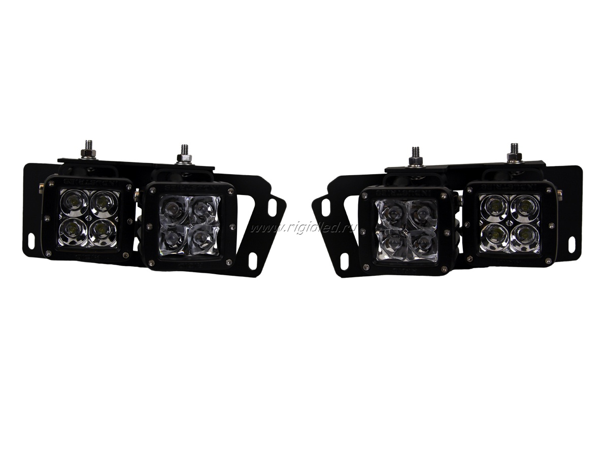 2010-2014 Dodge Ram Fog Light Kit