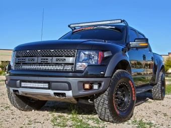 Ford F-150 SVT Raptor Brow Mount Kit