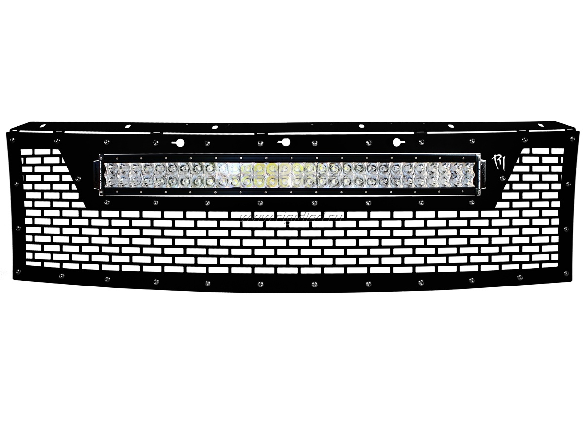Решетка радиатора 2010-2014 Ford® Raptor® Grille (Without Camera)